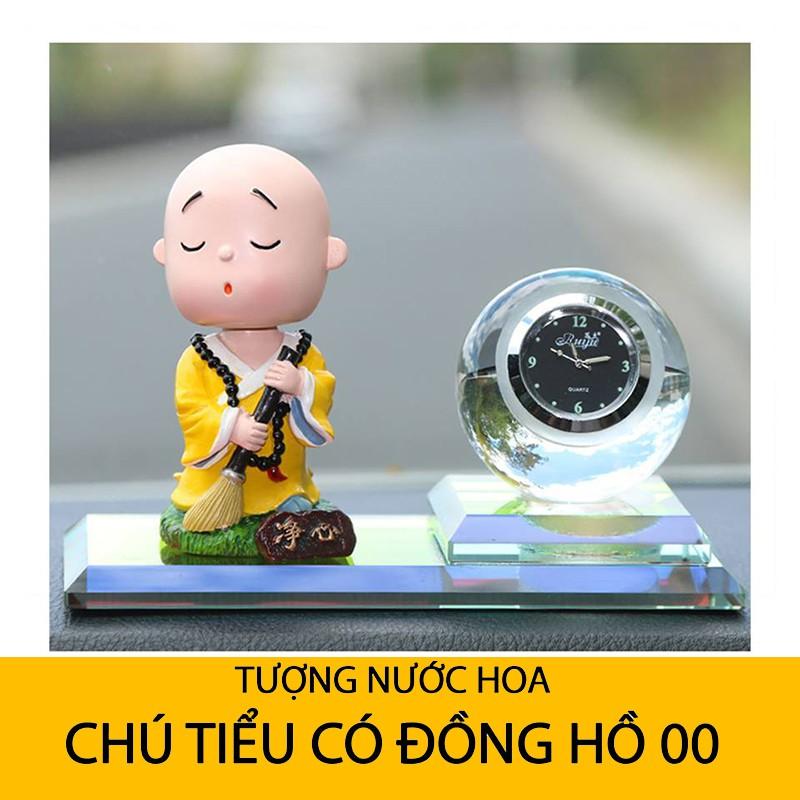 [Bán Chạy] Tượng Nước Hoa Chú Tiểu Ngộ Nghĩnh kèm Đồng Hồ Trang Trí Xe Hơi Ô Tô - 15101341 , 1574035898 , 322_1574035898 , 169000 , Ban-Chay-Tuong-Nuoc-Hoa-Chu-Tieu-Ngo-Nghinh-kem-Dong-Ho-Trang-Tri-Xe-Hoi-O-To-322_1574035898 , shopee.vn , [Bán Chạy] Tượng Nước Hoa Chú Tiểu Ngộ Nghĩnh kèm Đồng Hồ Trang Trí Xe Hơi Ô Tô