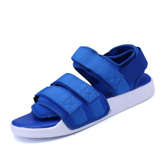 Sandal phong cách Hàn Nam Nữ IAXYUE 701 Xanh Đen Đỏ