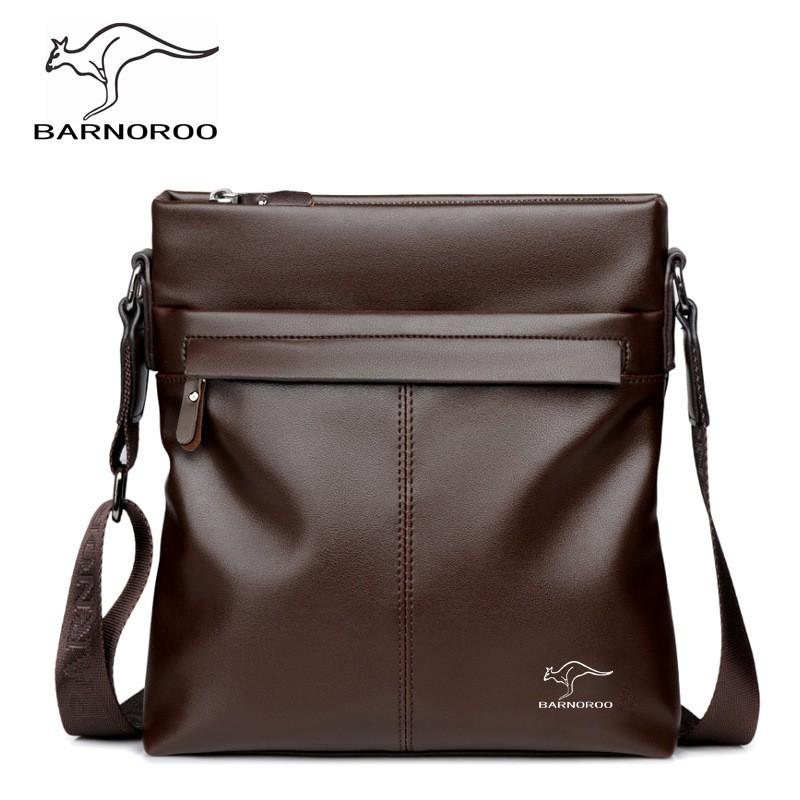 Túi đeo chéo nam da cao cấp BARNOROO-Poppii1