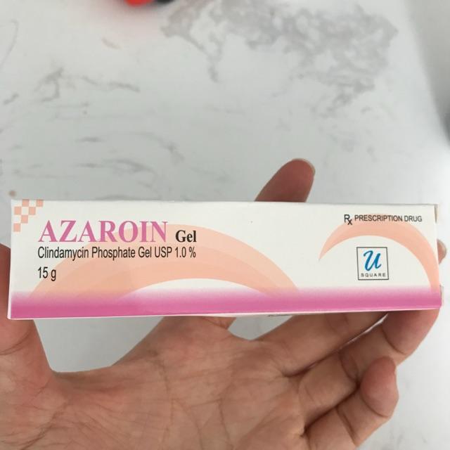 Kết quả hình ảnh cho azaroin gel