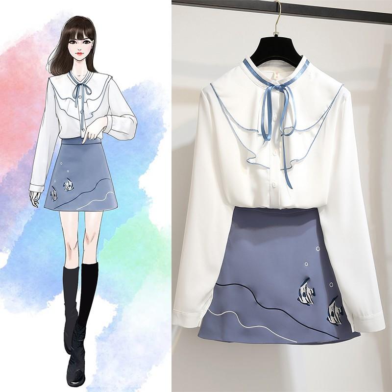 Áo thời trang tay dài duyên dáng thanh lịch cho nữ kiểu Hàn Quốc - 21782399 , 2666673378 , 322_2666673378 , 462500 , Ao-thoi-trang-tay-dai-duyen-dang-thanh-lich-cho-nu-kieu-Han-Quoc-322_2666673378 , shopee.vn , Áo thời trang tay dài duyên dáng thanh lịch cho nữ kiểu Hàn Quốc