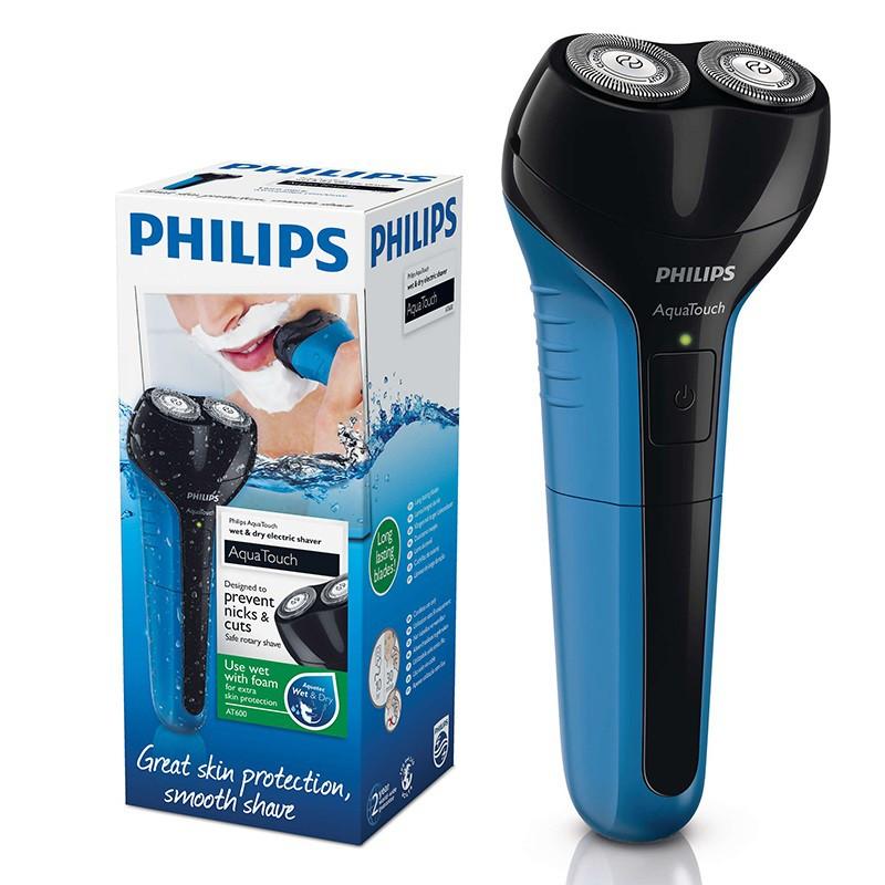 Máy cạo râu Philips AT600 (Xanh) - Hàng nhập khẩu