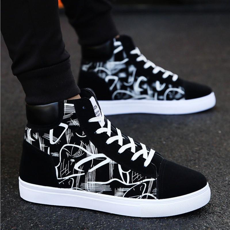 Giày Sneaker Nam Hàn Quốc Cao Cấp - S75