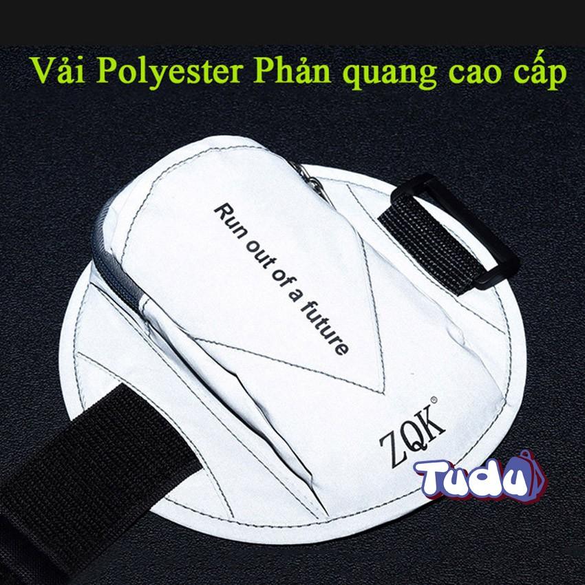 Túi Đựng Điện Thoại, Túi Đeo Tay Chạy Bộ Thể Thao Vải Polyester Phản Quang (CN311)