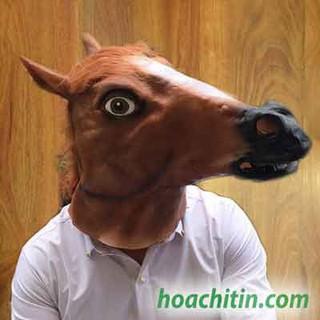 Mặt nạ da ngựa nâu yiyi