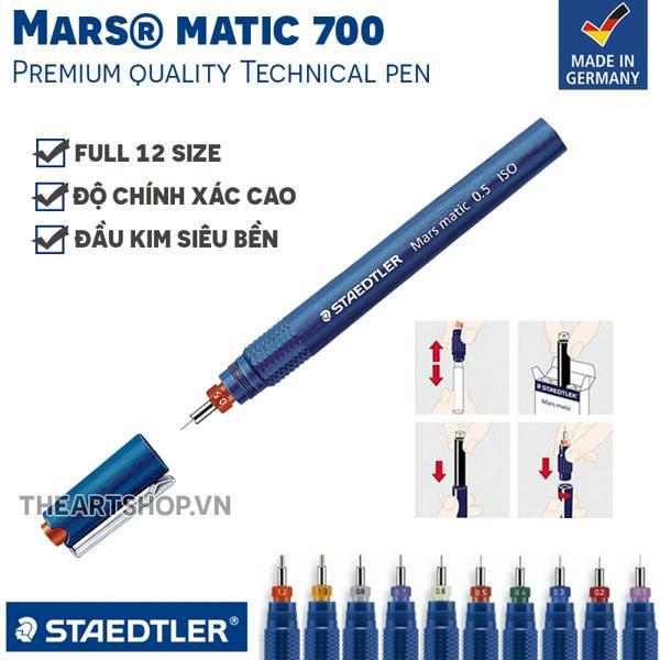 Bút kỹ thuật STAEDTLER Mars® Matic 700 - 9996985 , 923028034 , 322_923028034 , 294000 , But-ky-thuat-STAEDTLER-Mars-Matic-700-322_923028034 , shopee.vn , Bút kỹ thuật STAEDTLER Mars® Matic 700