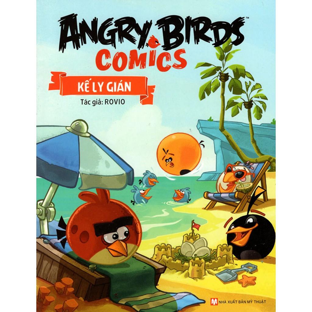 Sách - Angry Birds Comics - Kế Ly Gián