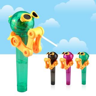 ♥♡ yunkan ♥♡ Creative lollipop robot decompression candy dustproof toy
