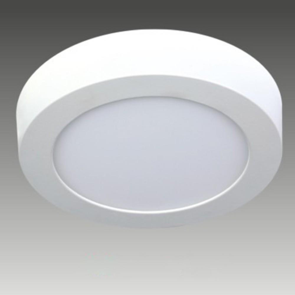 Đèn led ốp trần tròn, đèn mâm nổi led HT - Ánh sáng vàng, trắng - 6W
