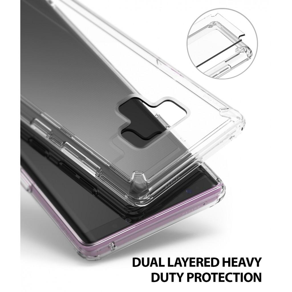 Ốp lưng Galaxy Note 9 Ringke Fusion - Hàng nhập khẩu (Nhiều màu)