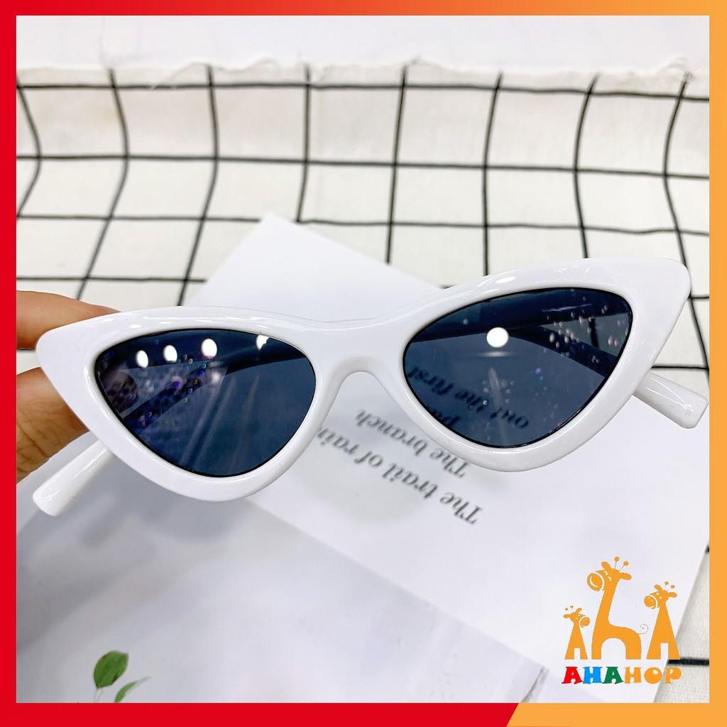 Kính mắt cho bé - Kính râm Mắt Mèo mùa hè cho bé 1-6 tuổi chống tia UV gọng dẻo...