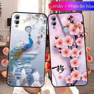 Huawei Glory 10 Phiên bản thanh niên Silicone, Vỏ đen, Glory 10 Phiên bản thanh niên của vỏ điện thoại di động, nam và n thumbnail
