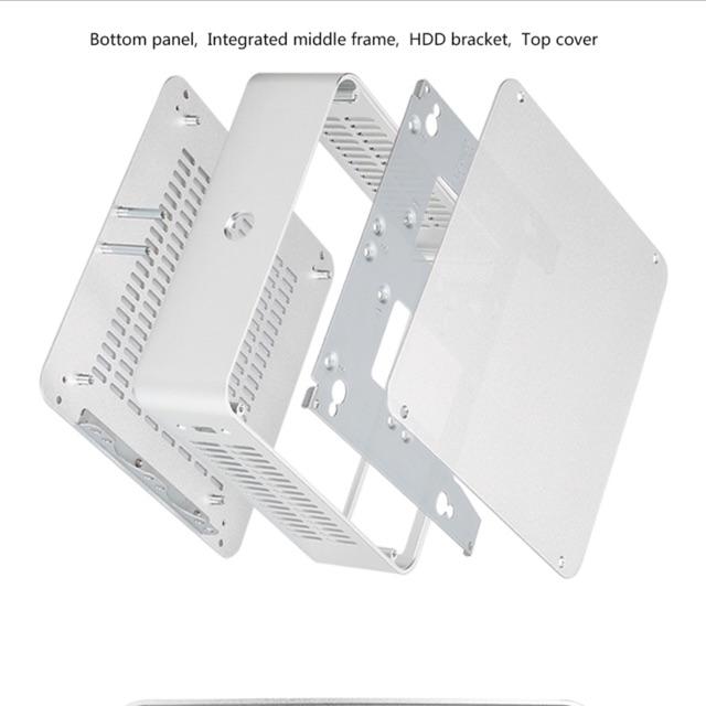 Vỏ case mini itx H60 nhôm nguyên khối Giá chỉ 1.650.000₫
