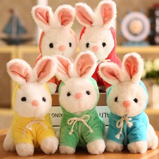 búp bê thỏ nhồi bông đáng yêu