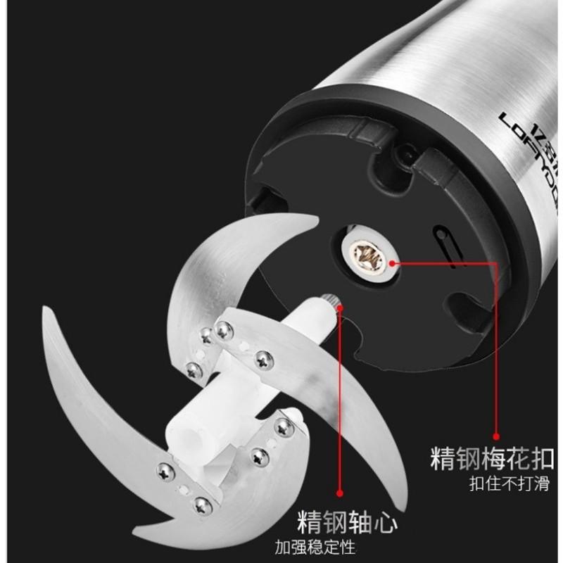 Lưỡi Dao Máy Xay Thịt Inox - Lưỡi Máy Dung Tích 2l  xay thịt 4 Lưỡi CỐI INOX, THỦY TINH (Sỉ lẻ-SLL) - Không gỉ, loại dày