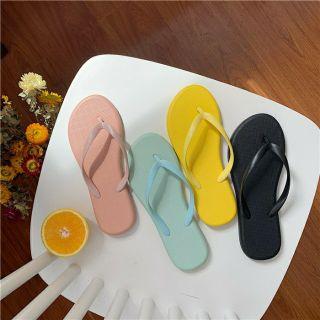 [Mã WASKT333 hoàn 20% tối đa 50K xu đơn 99K] Dép đi biển CAO SU INS mẫu mới 2020 Sunnie Shoes thumbnail