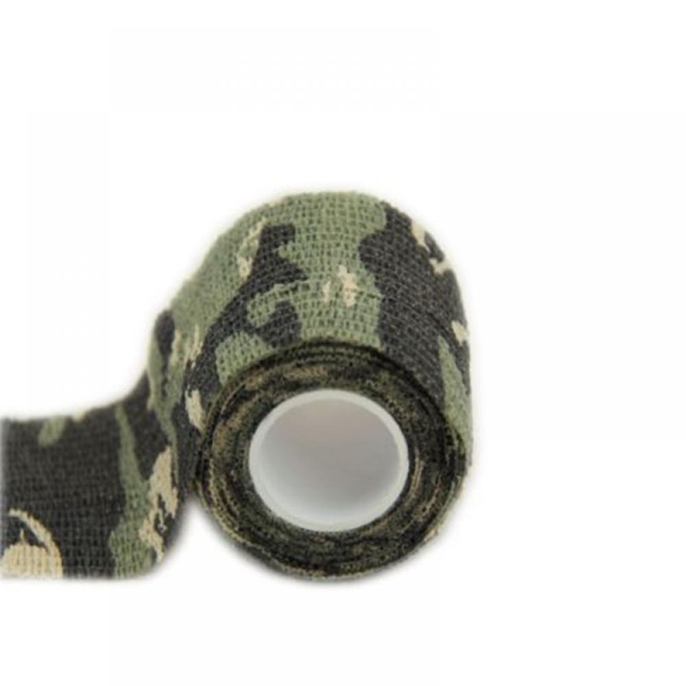 Băng dính hình rằn ri quân đội ngụy trang chất liệu vải Latex tự nhiên dùng cắm trại & săn bắn