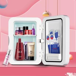Tủ lạnh mini 2 chế độ nóng lạnh 4 lít MarryCar MR-TL4L cho gia đình và ô tô nhiệt độ nóng 60 độ, lạnh 5 độ
