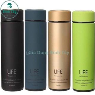 Bình GIữ Nhiệt 500ml Thương Hiệu LIFE giữ nhiệt tối ưu trên 8h / lạnh trên 12 giờ cam kết chất lượng cao ML-LIFE04