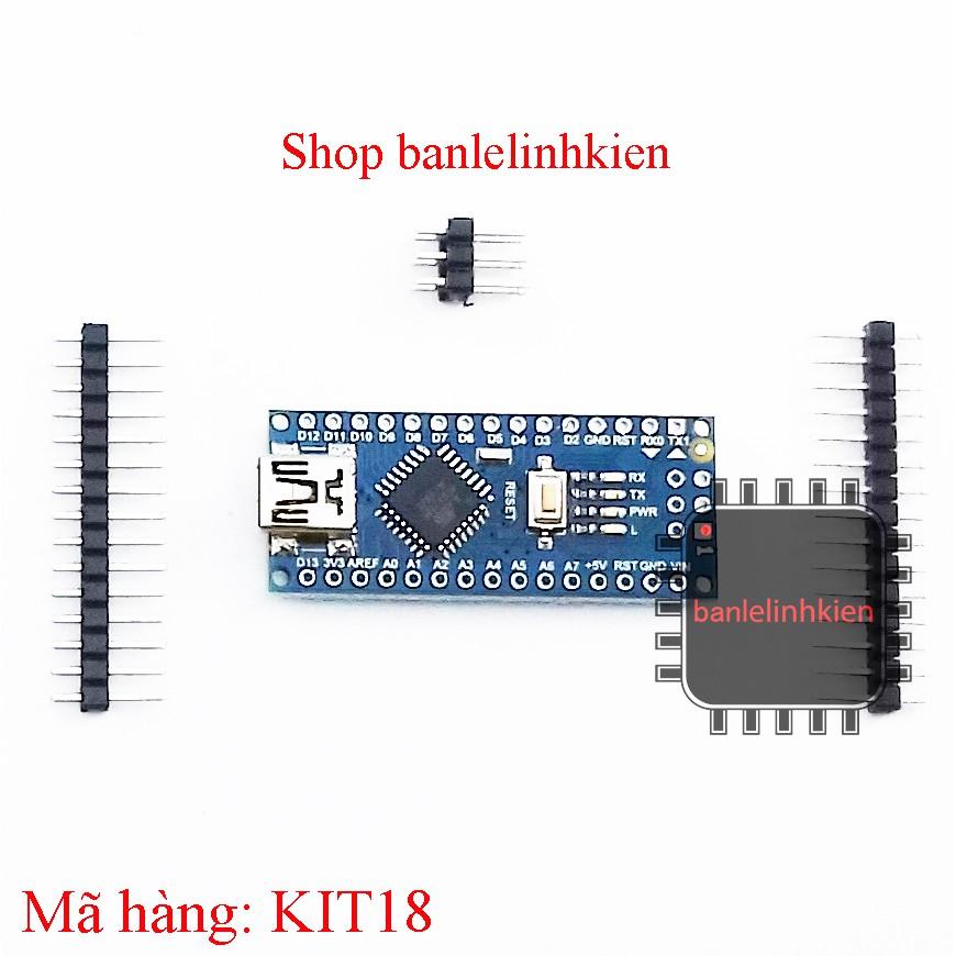 Kit phát triển Nano ATMEGA328P CH340G (tương đương Arduino Nano)
