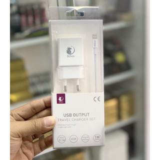BISON Combo Cốc Sạc + Cáp Lighting 12W Sử Dụng Được Cho Mọi iPhone iPad - Bảo Hành 12 Tháng thumbnail