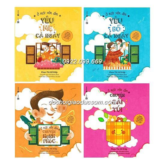 Combo 4 cuốn sách Ở nơi yên ấm - yêu bố cả ngày yêu mẹ cả ngày - 2583384 , 993895806 , 322_993895806 , 156000 , Combo-4-cuon-sach-O-noi-yen-am-yeu-bo-ca-ngay-yeu-me-ca-ngay-322_993895806 , shopee.vn , Combo 4 cuốn sách Ở nơi yên ấm - yêu bố cả ngày yêu mẹ cả ngày