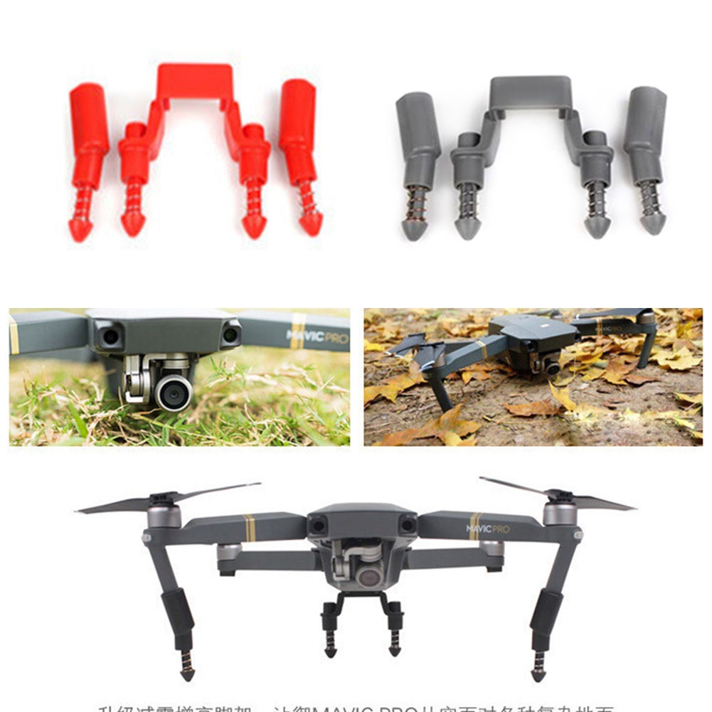 Quick Release Drone Parts Landing Gear Kits Protective Light Weight Extender Legs Support Shockproof For DJI MAVIC PRO