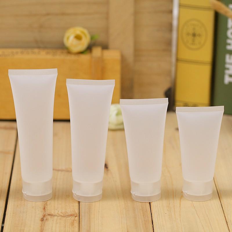 Tuýp Nhựa Chiết Mỹ Phẩm - Tuýp Đựng Kem Đánh Răng, Dầu Gội, Sữa Tắm, Sữa Rửa Mặt... (20ml/ 30ml/ 50ml/ 100ml)