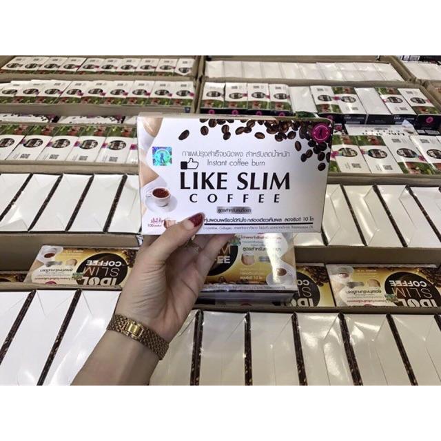 Cafe giảm cân LIKE SLIM mẫu mới - 2784256 , 654847158 , 322_654847158 , 99000 , Cafe-giam-can-LIKE-SLIM-mau-moi-322_654847158 , shopee.vn , Cafe giảm cân LIKE SLIM mẫu mới