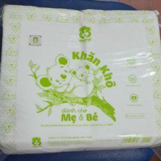 Combo 5 bịch khăn khô Mipbi 600g