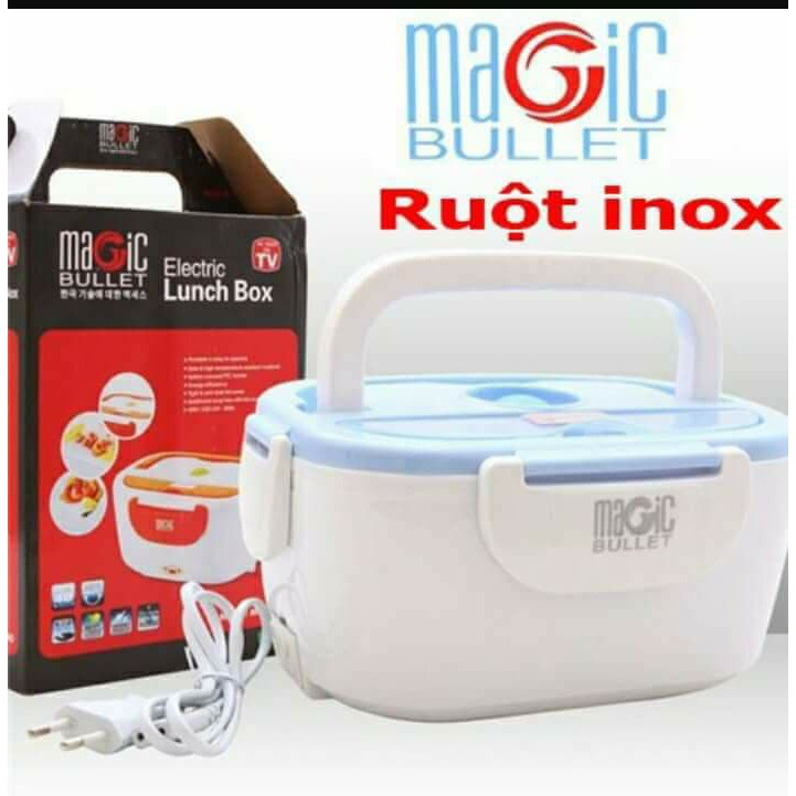 Hộp ủ cơm magic ruột inox