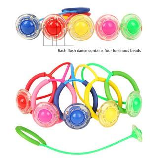 Bóng nhảy dây gắn đèn cho trẻ em