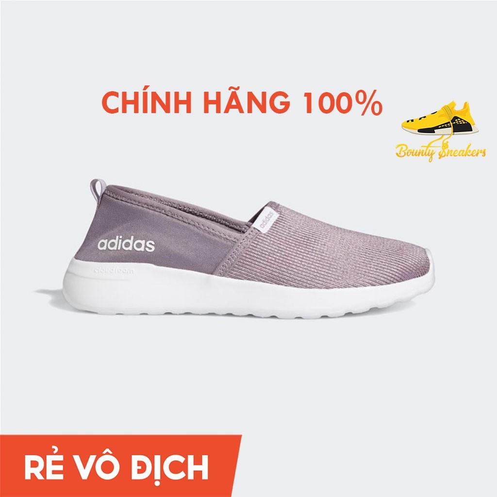 Giày Sneaker Thể Thao  Nữ Adidas Lite Racer Slip On  Tím FX3305 - Hàng Chính Hãng - Bounty Sneakers