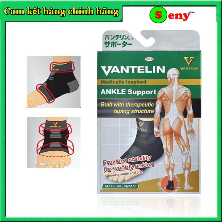 Băng bảo vệ khớp cổ chân Vantelin hỗ trợ băng cổ chân thể thao, đau gót chân