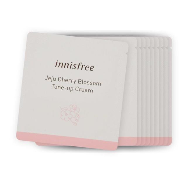 Sample Kem Dưỡng Nâng Tone Innisfree Jeju Cherry Blossom Tone-Up Crea