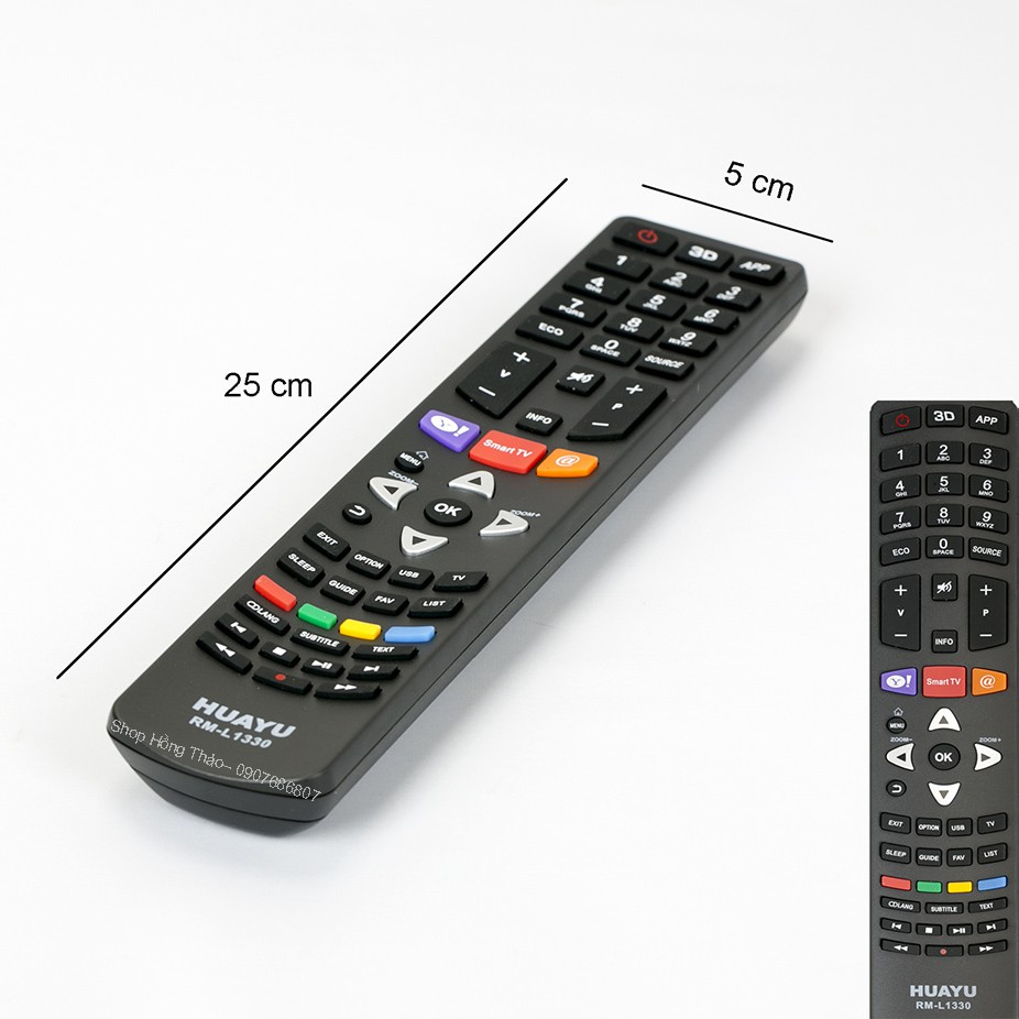 Remote Tivi Huayu for TCL - RM L1330