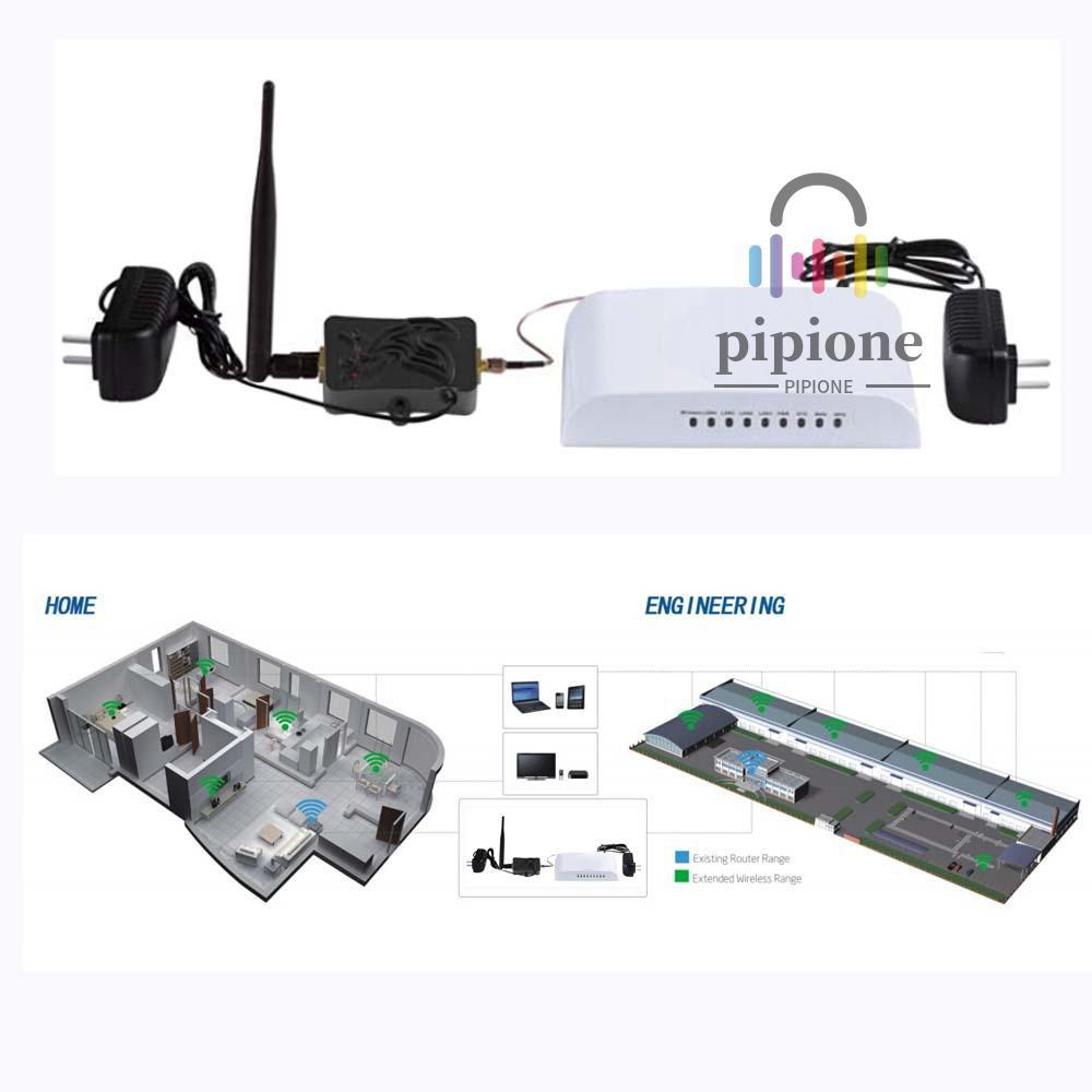 Bộ Khuếch Đại Tín Hiệu Wifi 4w 4000mw 802.11b / G / N 2.4ghz Wlabee Bt Có Ăng Ten