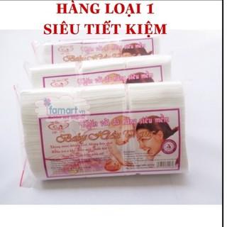 Khăn vải khô đa năng Baby Hiền Trang 300g gói 250 tờ
