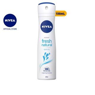 Xịt ngăn mùi NIVEA tươi mát tự nhiên (150ml) – 81601