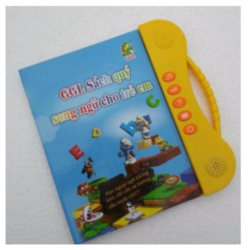 Sách Nói Điện Tử Song Ngữ Anh- Việt Giúp Trẻ luện tập Tiếng Anh