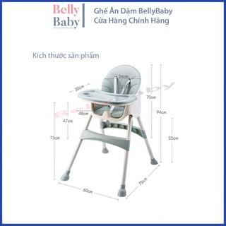 Ghế Ăn Dặm BellyBaby Dành Cho Bé Full Phụ Kiện Lắp Đặt (Model BB102) – BellyBaby