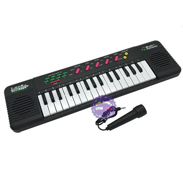 [TOYS1507 giảm 10% ngày 15/07]Hộp đồ chơi đàn Organ 32 phím có micro dùng pin TLF-3200