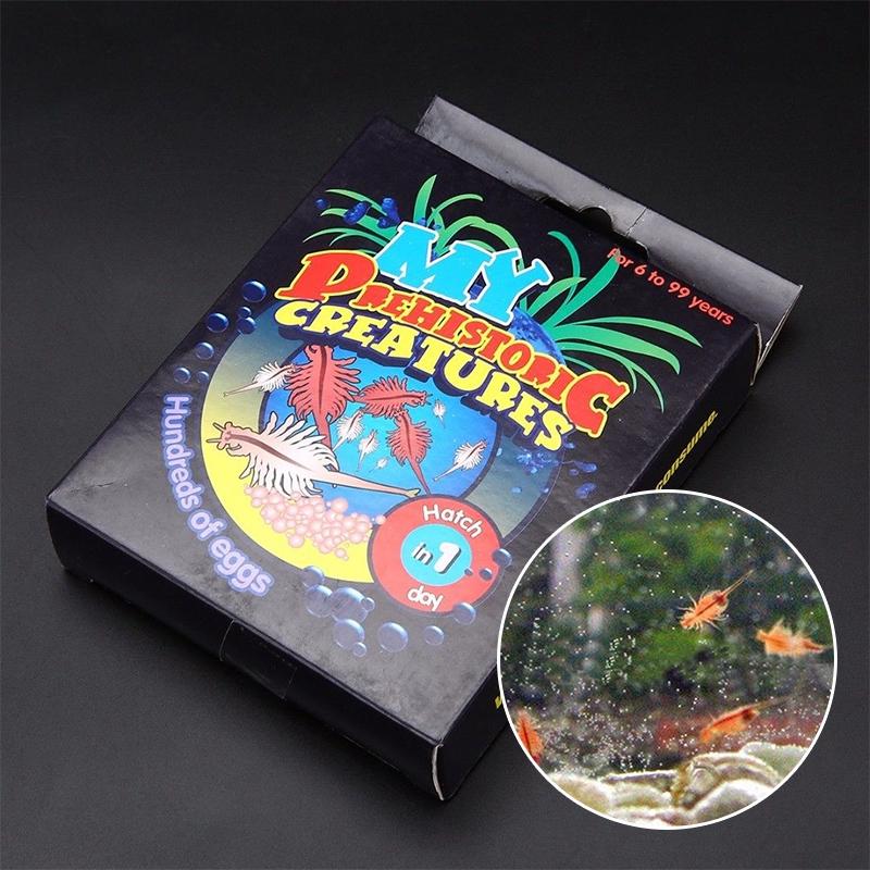 Live Sea Monkeys Ocean Zoo Marine Monkey Tank Aquarium Habitat Toy Pet fits kid