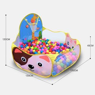 [HOT DEAL] Nhà bóng loại To, lều bóng tặng kèm 100 quả bóng nhựa cho bé