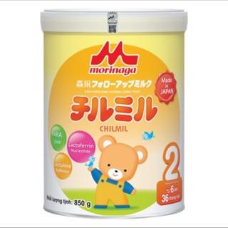 [Mua 6 lon tặng quà] Sữa bột Morinaga số 2 850g - Sữa morinaga nhập khẩu từ Nhật số 2 loại 850g date T4 2022