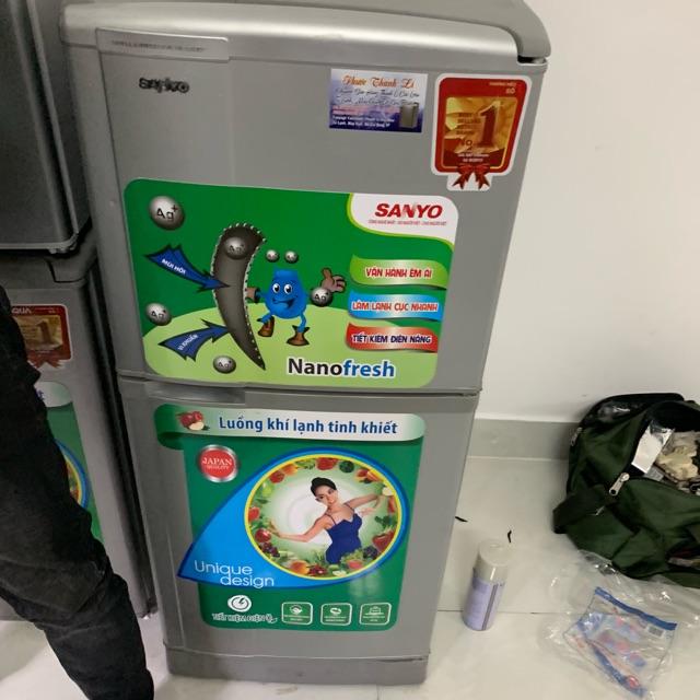 [ELHADEC giảm tối đa 1TR] Tủ lạnh sanyo 145l đã qua sử dụng khu vực sài gòn