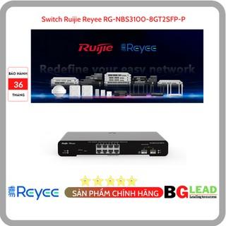 Thiết bị mạng Switch Ruijie Reyee RG-NBS3100-8GT2SFP-P 8-Port Gigabit L2 Managed POE thumbnail