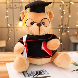 Zymaoyi1 28cm Graduation Bear Class of 2020 Stuffed Animal Plush Gift Bear Stuffed Toys