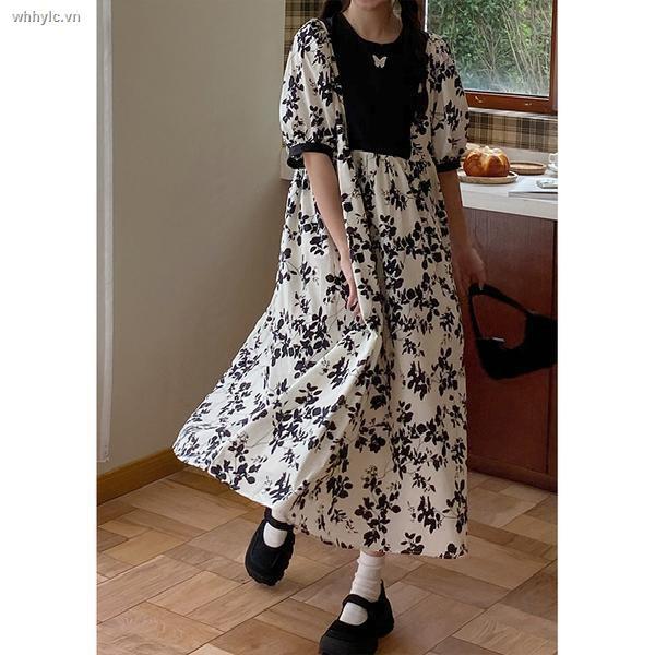 Đầm Hoa Tay Lửng Thời Trang Hè 2021 Cho Nữ