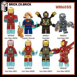 WM 6055 – Các robot Iron Man và Captain Marvel